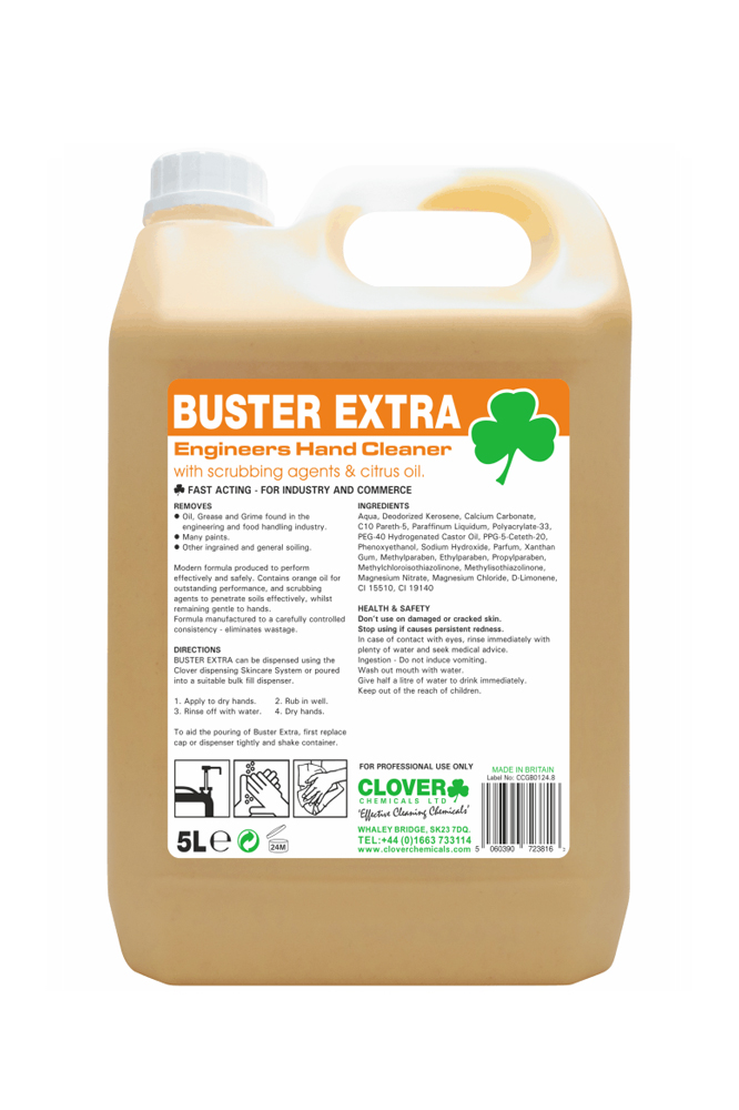 clover buster extra